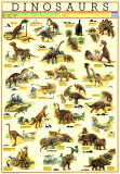 Dinozaury Plakaty