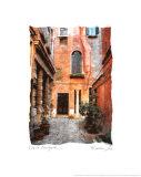 Venice Courtyard Schilderij van Maureen Love