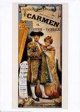 Berlioz, Carmen Poster