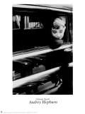 Audrey Hepburn Print by Dennis Stock