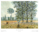 Fields in Spring, 1884 Prints by Claude Monet