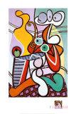 Naken og stilleben, ca. 1931 Plakater av Pablo Picasso