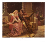 Tristan et Iseult Affiches par Edmund Blair Leighton