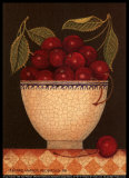 Cup o' Cherries Print by Diane Pedersen
