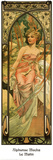 Morgen Poster von Alphonse Mucha