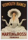 Martini Rossi Vermouth Bianco - Poster
