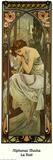 Nacht Schilderijen van Alphonse Mucha