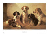 Hounds Prints by Edward Robert Smythe