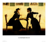 Confidences Posters by Harry W. Watrous
