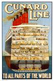 RMS. Aquitania Print