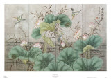 Lotus Pond Prints