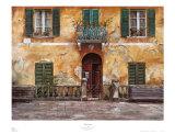 Villa toscane Affiches par Roger Duvall