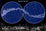 La carte du ciel Affiches