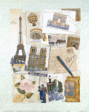 Paris Prints by Richard Henson