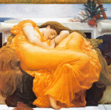 Flaming June, c.1895 Art by Frederick Leighton