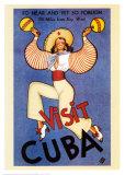 Besuchen Sie Kuba Kunstdrucke
