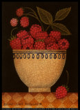 Cup o' Raspberries Prints by Diane Pedersen
