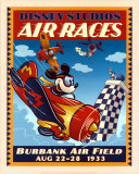 Mickey's Air Races Poster