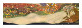 Serpientes acuáticas II, 1904-07 Lámina por Gustav Klimt