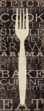 Kitchen Words I Posters by Pela Studio