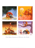 Many Seasons of Winnie the Pooh Posters
