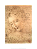 Female Head (La Scapigliata), c.1508 Prints by  Leonardo da Vinci
