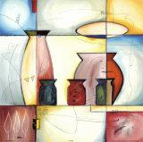 Through a Stained Glass Window I Plakater av Gockel, Alfred