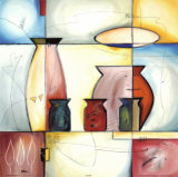 Through a Stained Glass Window I Poster van Alfred Gockel