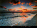 Sunset Over Sanibel Island Florida Prints by Jim Brandenburg