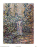 Edge of Garden Prints by Robert Payton Reid