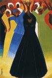 Velvet Spirit Print by Bernard Stanley Hoyes
