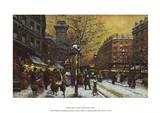 Porte St. Denis Paris Prints by Eugene Galien LaLoue