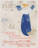 Elles Poster by Henri de Toulouse-Lautrec