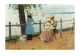 Afternoonthe Sea Posters by William Merritt Chase