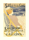 Salon des Cent Prints by Henri de Toulouse-Lautrec