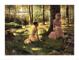 Under the Birches Prints by Albert Edelfelt