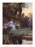 Moment's Peace Poster by Alfred Augustus Glendenning