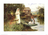 Afternoon Picnic Prints by Henry John Yeend King