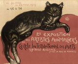 Cat Prints by Théophile Alexandre Steinlen
