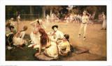 Lawn Tennis Club Posters by Frederick Arthur Bridgman