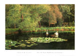 Lily Pond, Shudbrook, Near Lincoln Kunstdrucke