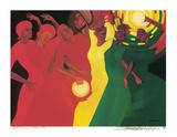 Spiritual Climax Posters av Bernard Stanley Hoyes