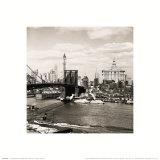 Brooklyn Bridge, New York City, 1938 Art