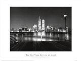 New York Skyline at Night Prints by Ralph Uicker