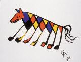 Beastie Print by Alexander Calder