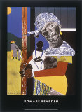 Come Sunday Prints by Romare Bearden