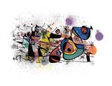 Joan Miró - Peintures - Reprodüksiyon