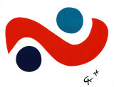Skybird Kunst av Alexander Calder