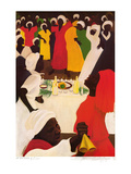 At the Table of Zion Affiches par Bernard Stanley Hoyes