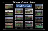 Escenas de la liga profesional de béisbol Lámina por Ira Rosen